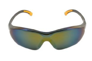Laser 5675 Safety Goggles - Black/mirrored